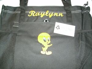Tweety Personalized Tote Bag Any color Tweety Bag