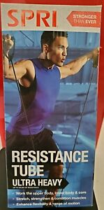 SPRI Resistance Tube Band Ultra Heavy Resistance Athletic Exercise