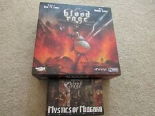 CMON Blood Rage & Mystics of Midgard Board Game, Complete, Opened, English