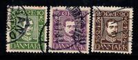 Denmark 1924 Used 60% King, 300 years of Danish
