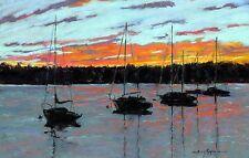 Day's End (14 x 18.25) --Giclee Print by Shelley Koopmann
