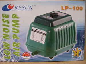 Resun LP - 100 Teichbelüfter Sauerstoffpumpe Membranpumpe Belüfter Luftpumpe