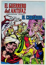 EL GUERRERO DEL ANTIFAZ (Reedición color) nº:  34.  Valenciana, 1972-1978.
