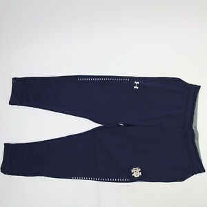 Notre Dame Fighting Irish Under Armour ColdGear Athletic Pants Men's Navy Used