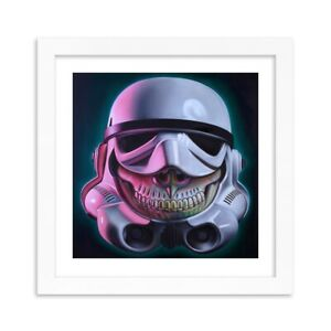 Ron English Stormtrooper Grin Print