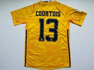 Thibaut Courtois #13 Real Madrid Goalkeeper Jersey Men Size M Medium Free Ship