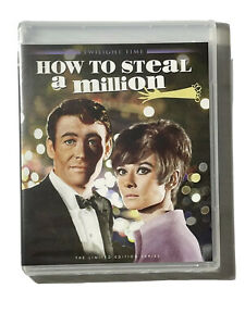 HOW TO STEAL A MILLION Blu-Ray TWILIGHT TIME LIMITED- AUDREY HEPBURN - OOP