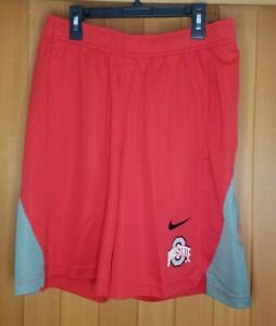 Nike Ohio State Buckeyes Shorts Men's Size M Red New with Tags