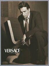 VERSACE fashion 1999 Print Ad