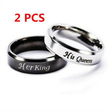 Her King, His Queen Couples Rings (2PCS  K-11  Q- 6)