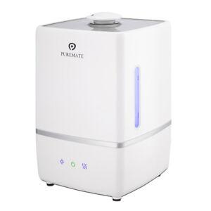 PureMate 5L Ultrasonic Cool & Hot Mist Humidifier Ioniser & Aroma Diffuser PM805