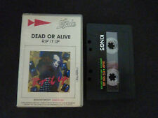 DEAD OR ALIVE RIP IT UP ULTRA RARE CLAMSHELL CASSETTE TAPE!