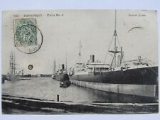CPA 59 - ANCIENNE CARTE POSTALE DUNKERQUE - DARSE N° 4 - EDITION CAYEZ - 1907
