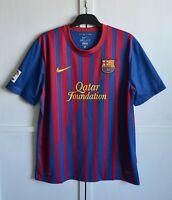 FC BARCELONA 2011 2012 HOME FOOTBALL SHIRT SOCCER JERSEY CAMISETA NIKE SIZE (XL)