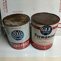 Vintage Eastern States Antifreeze Can, 1 Gallon Garage Gas Station GLF permanent