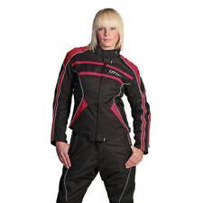 Chaquetas textil de color principal negro para motoristas, talla 36
