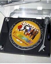 HAIRSPRAY AM/FM MINI TURNTABLE RADIO PROMO ITEM SUPER RARE!!!