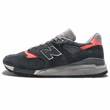 New Balance 998 Retro Shoes Suede Navy Blue Pink Gray Made In USA M998APC Size 7
