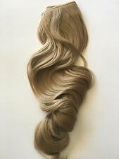 """ASH BLONDE #16  HALO STYLE FLIP IN STYLE HAIR EXTENSIONS 20"""" PRINCESS TRESSES"""