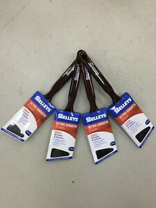 PAINT BRUSH 63MM EDGER SELLEYS ULTRA SMOOTH FINISH -  PACK 4