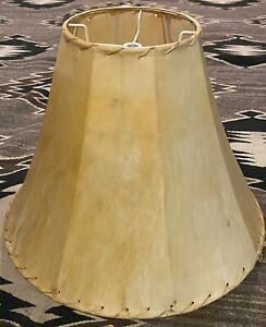 Rawhide Lamp Shade from the Southwest