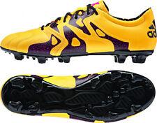 Adidas - x 15.2 Fg/ag Leather Uomo Color Arancione (solar Gold/core Black/sho