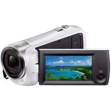 SONY HDR-CX470 Con Digital HD Video Cámara Handycam 32GB Blanco Rápido Enviar