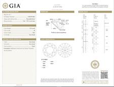 1.53 Carat Loose M/ VS2 Round Brilliant Cut Diamond GIA Certified