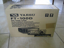 Yaesu FT-100D ORIGINAL box with styrofoam in Nice shape-box and inserts only