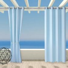 """Outdoor Drape and Curtain with Rust Proof Ring on Top and Bottom 50""""x120"""",1Panel"""