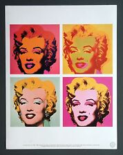 Andy Warhol Foundation Limited Ed. Offset Lithography Marilyn Monroe 1964 + 1967