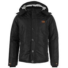 SoulCal&Co Hooded Bomber, Harrington Coats & Jackets for Men