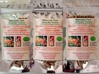 Naturally Thai - Organic Butea superba - Red Kwao Krua - 500mg x 180 Capsules