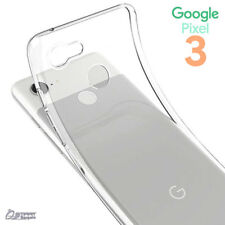 All Clear Gel TPU Skin Jelly Soft Case Cover For Google Pixel 3 / Pixel 3 XL
