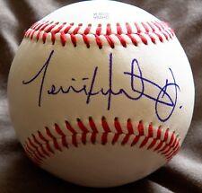 Anaheim Angels Torii Hunter Jr. Signed Rawlings Minor League Baseball Auto