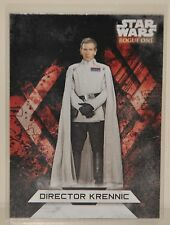 "2017 Topps Star Wars Rogue One Series 2  ""DIRECTOR KRENNIC"" Stickers"