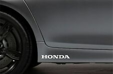 2x Skirt Side Stickers fits Honda Civic Accord Car Decal Bodywork Sticker VK20