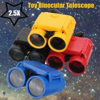 Magnification Toy 2.5 x 26 Kid Children's Binocular Telescope + Neck Tie Strap