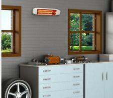 Fahrenheat infrared heater high intensity indoor/outdoor wall mounted heater
