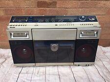 Rare Sharp VZ2000 80's Stereo System Boom Box Ghetto Blaster Record Player Vinyl