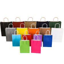Kraft Paper Gift Bag With Handle Festival Jewelry Bags Wedding Package  LYDO