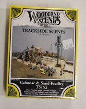 "HO Scale Woodland Scenics ""Trackside Scenes"" 152 * Caboose & Sand Facility Kit"