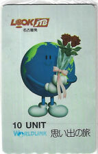 TK Telefonkarte/Phonecard Worldlink 10u Japanese Travel Bureau (JTB) World Globe