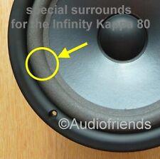 Infinity Kappa 80 > 4x Schaumstoff Sicken (speziell hergestellt) für Reparatur