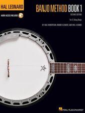 New Hal Leonard Banjo Method Book 1 with Online Audio - 2nd Edition