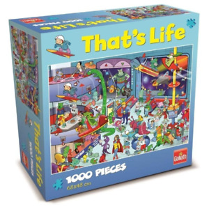 Thats Life Outer Space 1000 Piece Jigsaw Puzzle NEW