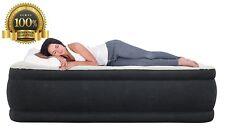 King Koil Queen Size Luxury Raise Air Mattress Best Inflatable Airbed Built Pump