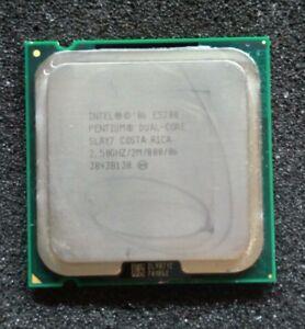 Processeur CPU INTEL PENTIUM DUAL-CORE E5200 2,50Ghz SLAY7 LGA 775