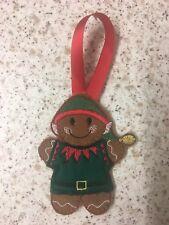 Christmas Decoration Elf Gingerbread Men Tree Decoration