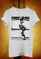 Skateboard Sexy Girl Funny Hipster Men Women Unisex T Shirt Tank Top Vest 902